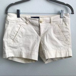American Eagle Outfitters Chino Shorts Beige N